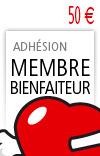 Adhesion Bienfaiteur